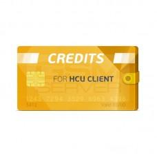 HCU CLIENT - PACK 4 CREDITOS