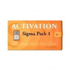 SIGMA PACK 1 - ACTIVACION