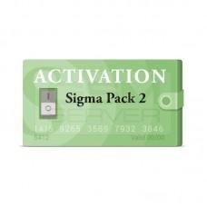 SIGMA PACK 2 - ACTIVACION