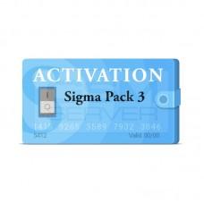 SIGMA PACK 3 - ACTIVACION